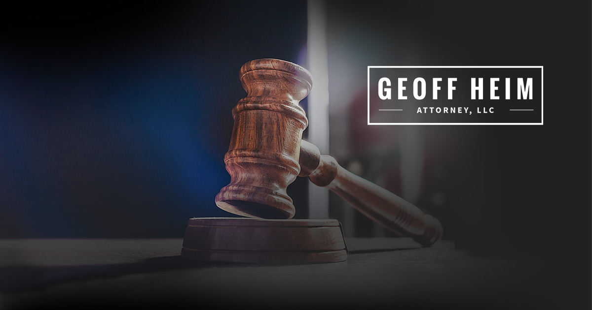 Colorado Springs Criminal Defense Lawyer | Geoff Heim, Attorney